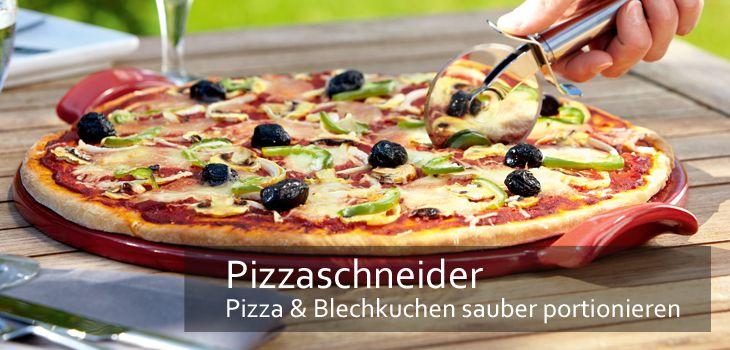 Pizzaschneider - Pizza & Blechkuchen sauber portionieren