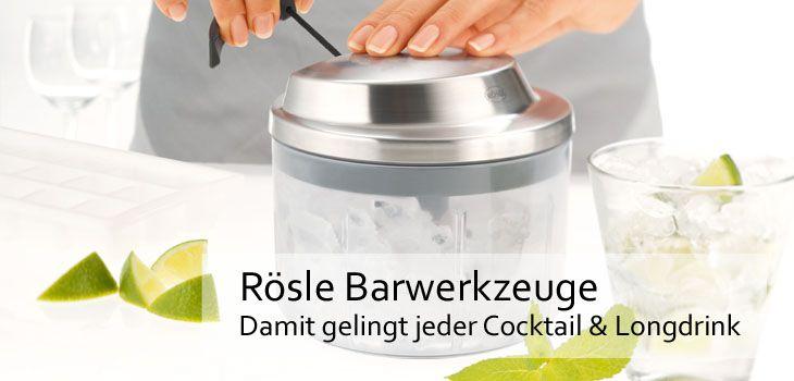 Rösle Barwerkzeuge - Damit gelingt jeder Cocktail & Longdrink