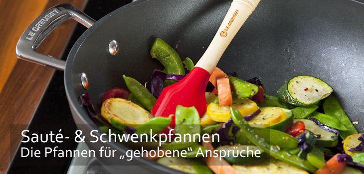 Sauteusen & Schwenkpfannen - die Pfannen für gehobene Ansprüche