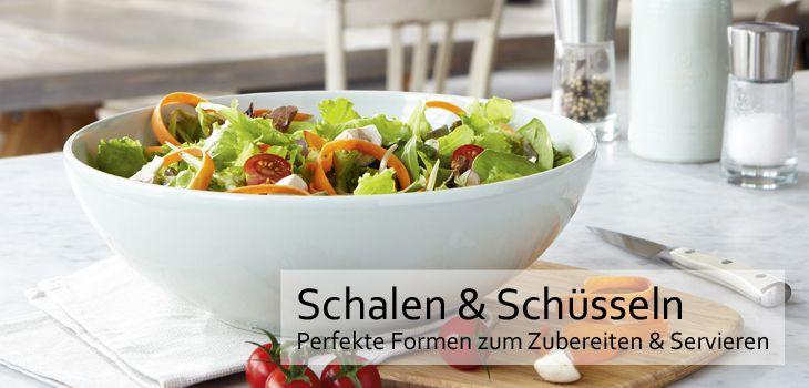 Schalen & Schüsseln - Perfekte Formen zum Zubereiten & Servieren