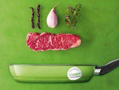 Silit Pfannen - Materialinnovationen für Steaks, Gemüse und Pfannkuchen