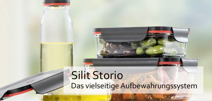 Silit Storio - Das vielseitige und praktische Aufbewahrungssystem aus Glas