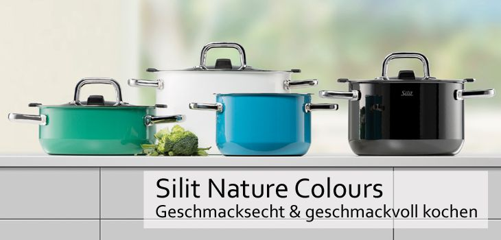 silit kochtopfserie nature colours gro e auswahl top marken. Black Bedroom Furniture Sets. Home Design Ideas
