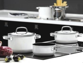 Silit Topfserie Polar White - Perfekt kochen und gesund geniessen