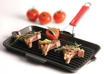 Grillpfannen - Ideal zum knusprigen, fettarmen Braten mit den typischen Grillstreifen