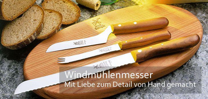 Windmühlenmesser - Handgefertigt nach dem Solinger Dünnschliff