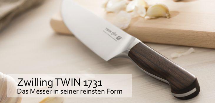 Zwilling TWIN 1731 - Das Messer in seiner reinsten Form
