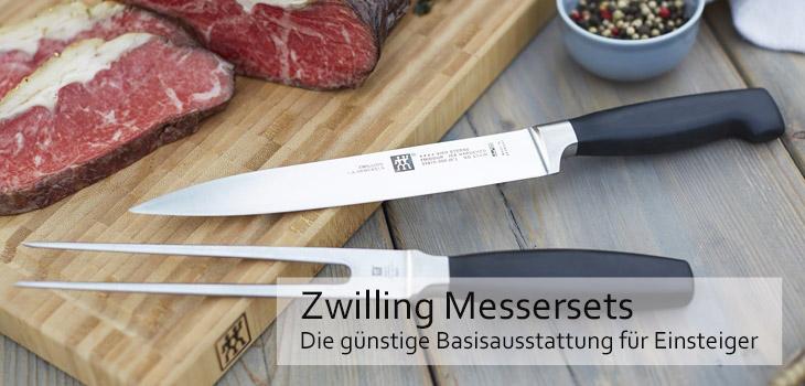 Zwilling Messersets - die günstige Basisausstattung für Einsteiger
