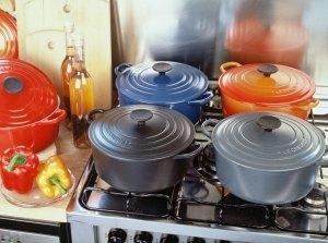 Kochen und Braten mit Gusseisen
