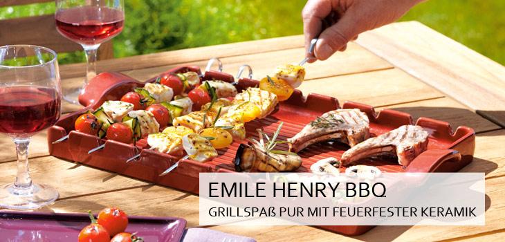 Emile Henry BBQ