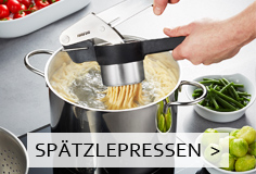 GEFU Spätzlehobel & Spätzlepresse