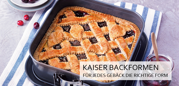 Kaiser Backformen - Das Beste Backen
