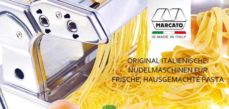 Marcato Nudelmaschinen - Original italienische Pastamaschinen