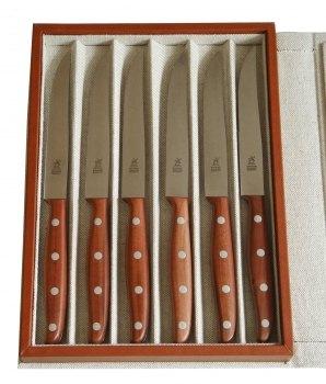 Windmühlenmesser aus Pflaumenholz - harte, nuancenreiche Hölzer aus österreichischen Obsthöfen